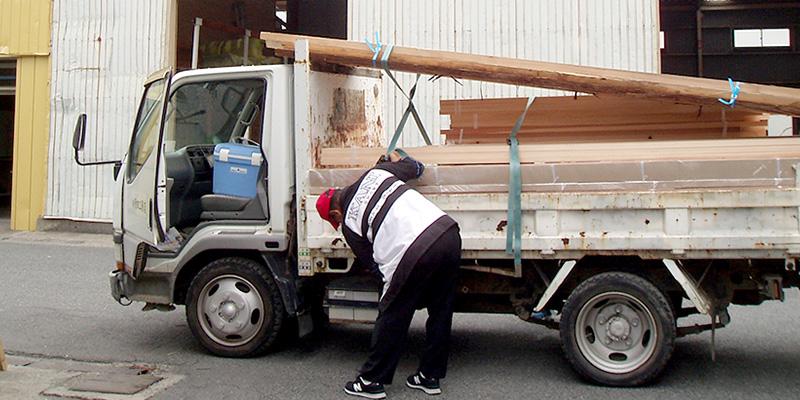 正木屋材木店の材木